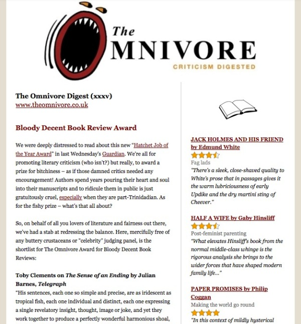 The Omnivore Digest